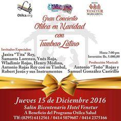 Recibiremos la Navidad con un concierto lleno de emociones y mucho ritmo. Imperdible!  La cita es el 15 de diciembre en @veneturmar. Adquiere tus entradas a través de nuestros teléfonos.   #Mgta #IslaDeMargarita #NuevaEsparta #Margarita #EventosEnLaIsla #Venezuela #LaIsla #Navidad #Música #Regrann