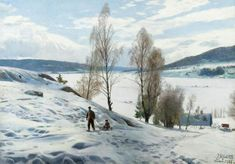 Работы художника Peder Mørk Mønsted (Петер Мёрк Мёнстед 1859 г. - 1941 г.)…