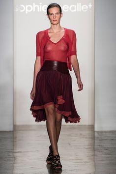 Sophie Theallet, Spring 15  -- cool skirt