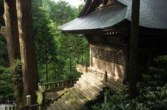 Haruna Shrine.  Haruna Shrine is a Shinto shrine located in Takasaki, Gunma Prefecture, Japan.  Photographer mila-sera of Flickr