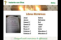 Este es otro grupo de libros de la Biblia que narran parte de la Historia del Pueblo de Israel