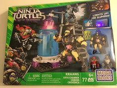 New Mega Bloks Teenage Mutant Ninja Turtles Kraang Cryo Chamber Set 77 Pcs 6+ #MegaBloks