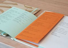 Back Row West Menu by Gemma Warriner and Katie Dean