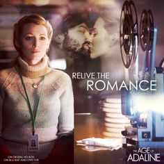 #Adaline has over a century worth of memories... Tag a friend who you want to relive the romance of The Age of Adaline with when it comes to Digital HD on 8/25.