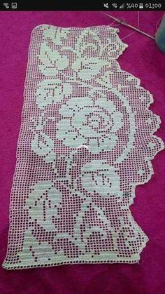 Karoo Vintage MAL Crochet pattern by Jen Tyler Crochet Home, Easy Crochet, Free Crochet, Knit Crochet, Crochet Placemats, Crochet Doilies, Crochet Borders, Crochet Stitches Patterns, Fillet Crochet