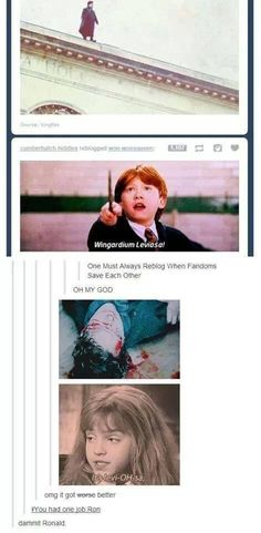 "When Tumblr went straight up morbid. | 31 Times Tumblr Had Jokes About The ""Harry Potter"" Series"