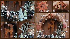 Burlap Wreath, Christmas Decorations, Clock, Wreaths, Wall, Home Decor, Watch, Decoration Home, Door Wreaths