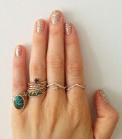 thin delicate stacking rings jewelry #stylemath blog