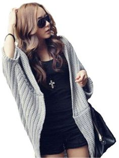 Items similar to Short hand knitted sweater WEENA oversize