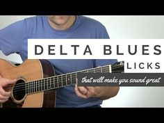 Delta Blues Licks that Will Make You Sound Awesome | Tuesday Blues #131 - YouTube