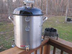 mini-UDS using a 40qt stock pot