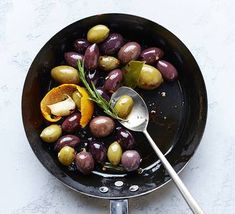 Transform a container of mixed olives into a special appetizer with just a few ingredients. Marinated Olives, Stop And Shop, Vegetarian Chili, Few Ingredients, Dried Fruit, Garlic, Paleo, Appetizers, Container