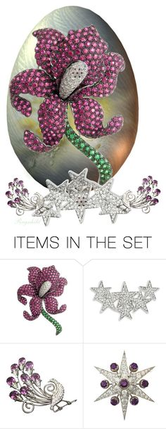"""""""Jeweled Egg😀"""" by ragnh-mjos ❤ liked on Polyvore featuring art, jewelry and egg"""
