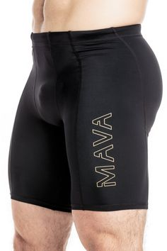 Mava Men's Compression Short Leggings - Base Layer Tights for Workouts, Running, Cycling, Sports, Training, Weightlifting - All Weather Shorts Capri >>> Continue to the product at the image link.
