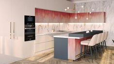 Penthouse modern de lux - Creativ-Interior Interior Projects, Decor, Table, Furniture, Interior, Kitchen, Modern, Home Decor, Penthouse