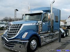International semi truck from the 2008 Mid America Truck Show