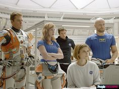 "Matt Damon is lost in space in Ridley Scott's upcoming film ""The Martian"" based on the novel by Andy Weir 