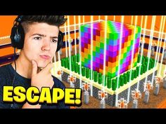 CAN YOU ESCAPE THE RAINBOW CUBE in MINECRAFT...? Preston Playz, Minecraft Videos, Top Videos, Cube, Rainbow, Symbols, Canning, Rain Bow, Rainbows
