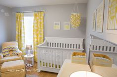 Cloud Themed Nursery for Baby Andrew - Project Nursery Baby Nursery Decor, Nursery Themes, Baby Decor, Themed Nursery, Project Nursery, Girl Nursery, Yellow Kids Rooms, Yellow Nursery, Clouds Nursery