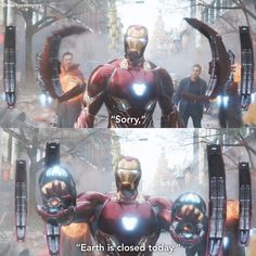 ; How could anyone hate Tony Stark after Infinity War?