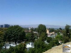The view from our Woodland Hills, CA home.