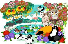 Nihon ga daisukii: Parque das aves - Shizuoka ken