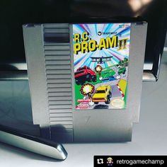 #Repost @retrogamechamp with @repostapp  Can't wait to try it with friends! #nintendo #nes #rcproam2 #fourscore