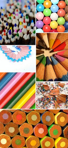 Found on Pattern Observer  #color #pencils