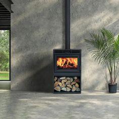 Best Wood Burning Stove, Modern Wood Burning Stoves, Wood Stoves, Stove Fireplace, Fireplace Design, Wood Stove Modern, Supreme, Pellet Stove, Fireplace Inserts