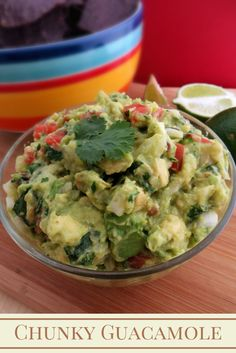 Growing up Madison: Best Chunky Guacamole Recipe