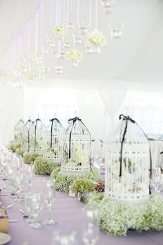 Vintage bird cages: http://www.stylemepretty.com/2015/06/28/vintage-inspired-wedding-details-we-love/