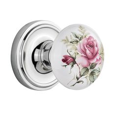 Shop Nostalgic Warehouse  Classic Rosette with Porcelain Knob at ATG Stores. Browse our interior door handles, all with free shipping and best price guaranteed.
