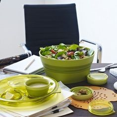 Collapsible Salad Set