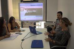 ¡Equipo de Comunicación al poder!  Creando y planificando nuevas #estrategias de cara a septiembre. ¡Será un mes lleno de sorpresas!