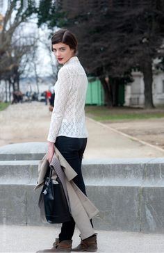 Street Style Aesthetic » Blog Archive » Paris – Katryn Kruger
