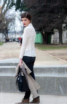 Street Style Aesthetic » Blog Archive » Paris – Katryn Kruger