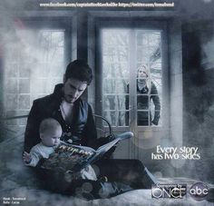 Emma's seeing that if he's an amazing father! This an AWESOME pic!