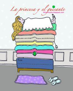 La princesa y el guisante de Pitiminicose.blogspot.com