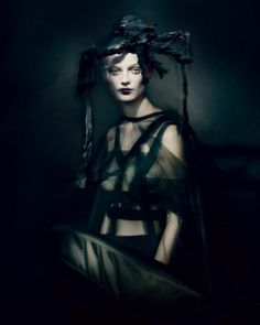 """Fashion's Purest Visionary: Rei Kawakubo"" - the New York Times T Style Magazine, Holiday 2013. Photographer: Paolo Roversi."