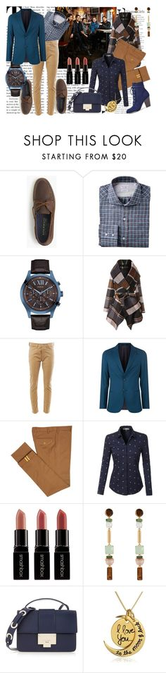 """""""Untitled #1483"""" by hebaaa3 ❤ liked on Polyvore featuring J.Crew, GUESS, Chicwish, Junya Watanabe, Paul Smith, Diverso, LE3NO, Smashbox, Henri Bendel and Jimmy Choo"""