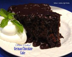 Melissa's Southern Style Kitchen: Slow Cooked German Chocolate Cake