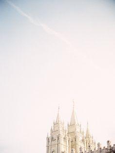 Salt Lake Temple, Utah | Michelle White Photo