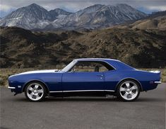 1968 Chevy Camaro 1968 CHEVROLET CAMARO CUSTOM 2 DOOR COUPE