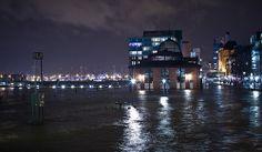 Hochwasser am Fischmarkt- Sturm Xaver lässt grüßen. #2332