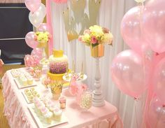 Pink Princess Birthday Party Ideas | Photo 9 of 16