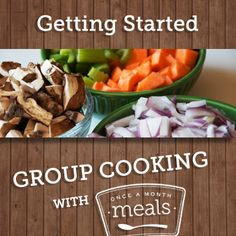 Getting Started - Group Cooking with OAMM