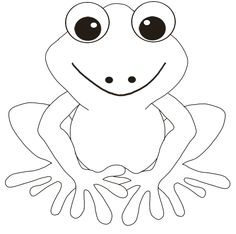 frog with great body and interesting frog templatefrog coloring pagesflower