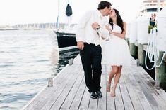 25 Super Chic Short Wedding Dresses   SouthBound Bride   http://www.southboundbride.com/short-wedding-dresses   Credit: Erin McGinn/Amsale via Style Me Pretty