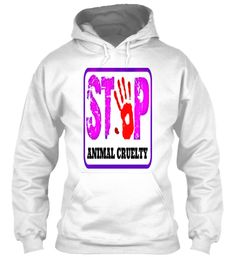 STOP violence against animals! (Hoodie)