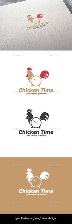 Chicken Time Logo: Object Logo Design Template created by astanadesign. Logo Design Template, Logo Templates, Buy Chickens, Coffee Logo, Text Fonts, Christmas Photography, Animal Logo, Monogram Logo, Photography Props